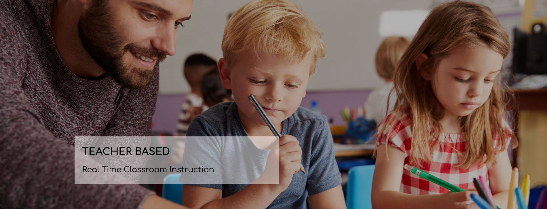Best Brains TEACHER BASED Real Time Classroom Instruction
