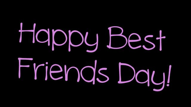 Best Friends Day