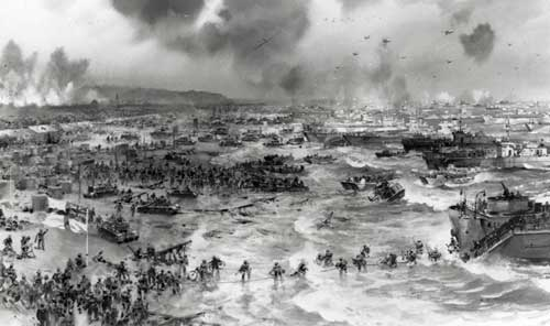 What does the D- in D- Day means?