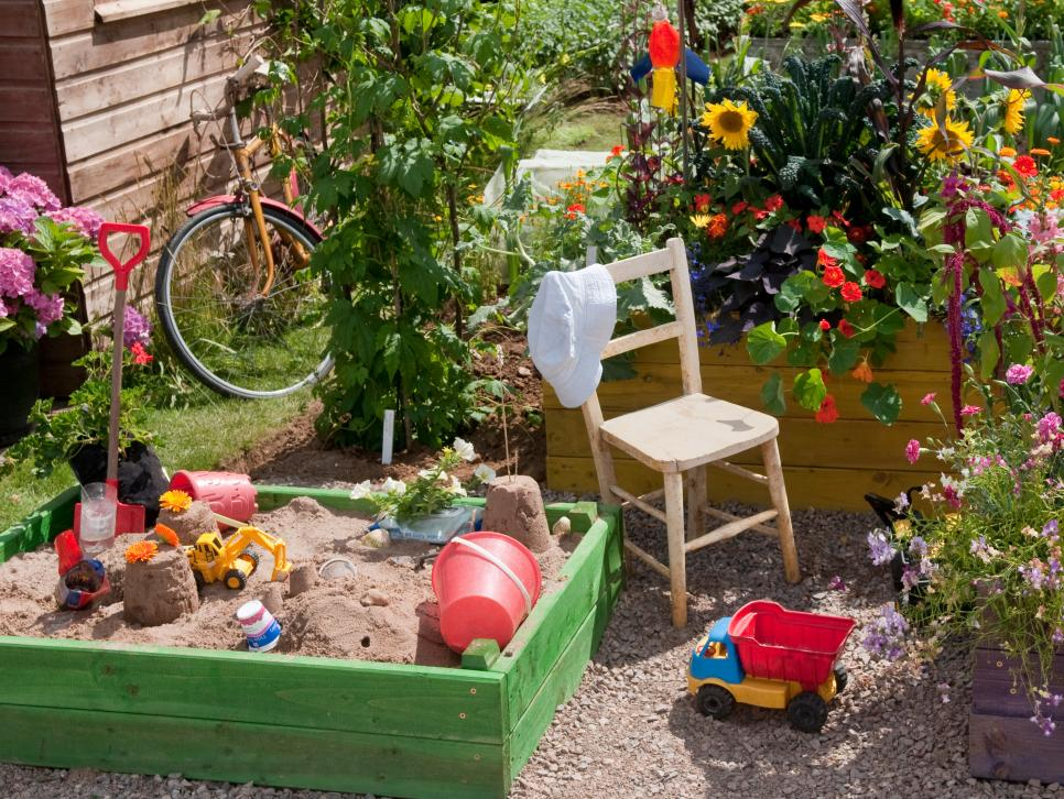 Create a Family Garden – which makes you, your parents and pets happy.