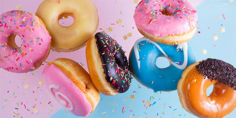 Crispy and Creamy Doughnuts - National Doughnut Day
