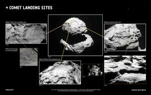 Rosetta Spacecraft Mission Ends