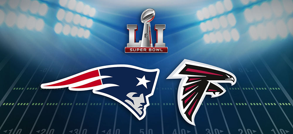 Super Bowl Sunday - Patriots vs. Falcons