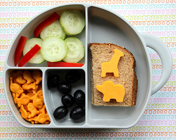 5 Easy Sack Lunches Kids Love