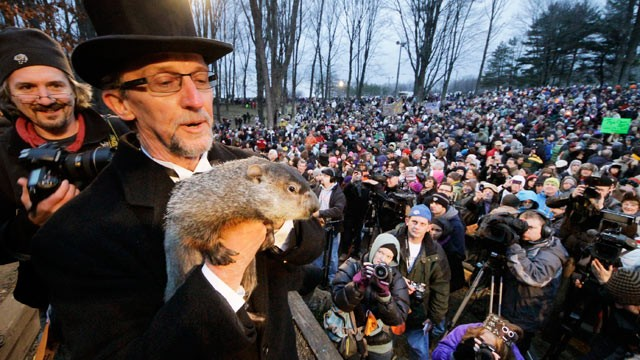 Celebration of Groundhog Day