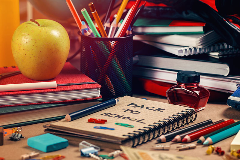 back to school, middle school, organization, parent tips