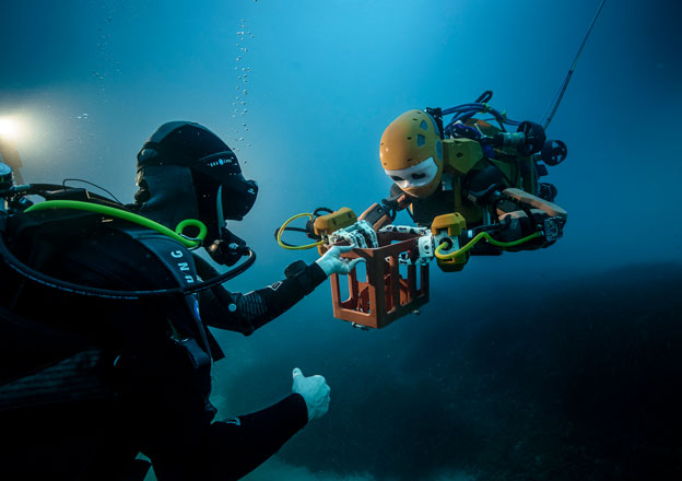 Stanford's Robotic Mermaid